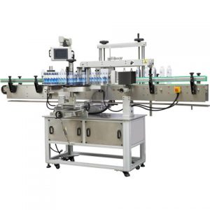 Cylindrical Bottle Labeling Machine With Sticker