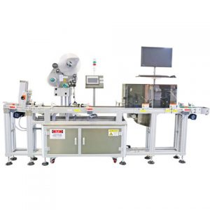 Linear Type Labelling Machine