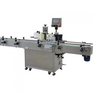 Amber Glass Bottle Horizontal Labeling Machine