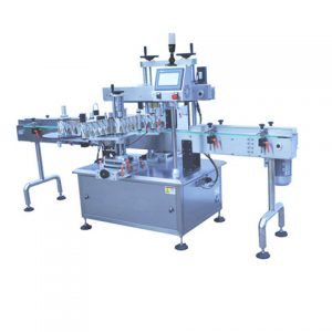 Top Surface Labeling Machine With Paging Equipment