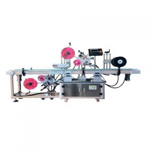Automatic Sticker Labeling Machine For Lipstick Mascara