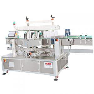 Compact Powder Case Labeling Machine