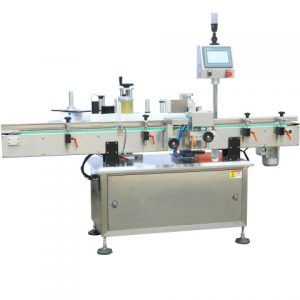 Automatic Top Side Chocolate Box Label Applicator