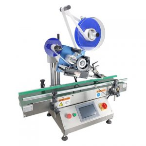 Plastic Labels Labeling Machine With Barcode Device