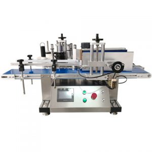 Labeling Machine For Palm Oil Bottle