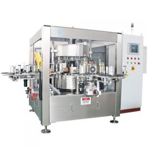 Flat Square Bottle Labelling Machine