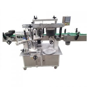 Clamshells Top And Bottom Labeling Machine