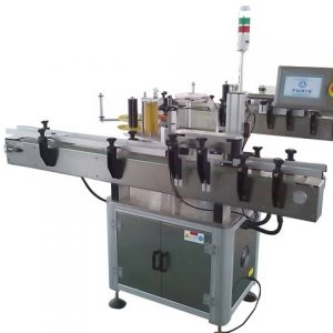 Vertical Adhesive Labeling Machine For Penicillin Bottle