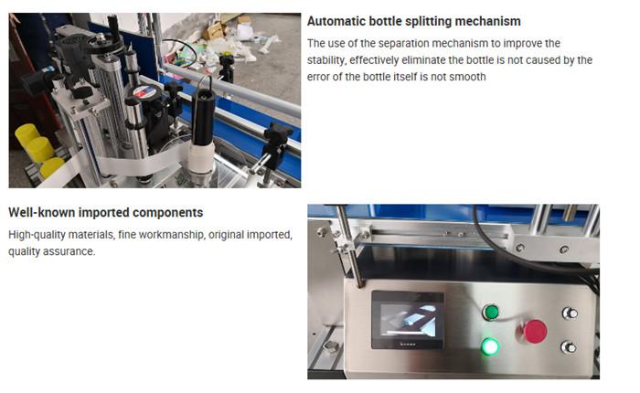 Automatisk merking av maskinflaskemerkedetaljer