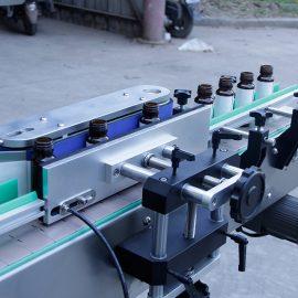 Automatisk vertikal rund flaske klistremerke merking maskin detaljer