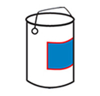 Bucket One Side Labeler